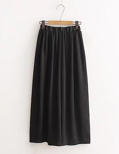 Women's Mid Rise Micro-elastic Wide Leg Pants,Street chic Wide Leg Tassel Solid