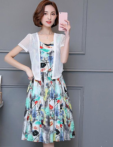 Women's Daily Simple Loose Dress