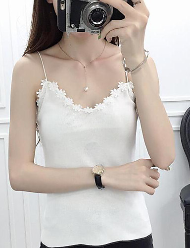 Women's Daily Casual Short Cardigan,Solid Strap Sleeveless Cotton Summer Medium Micro-elastic