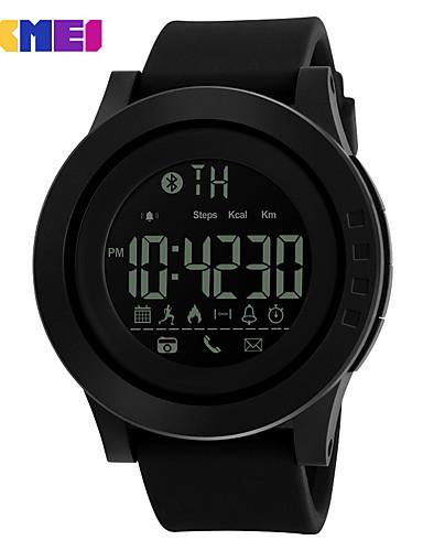 Miesten Digitaalinen Watch Rannekello Smart Watch Pukukello Muotikello Urheilukello Kiina Digitaalinen Kalenteri LED Iso näyttö Silikoni