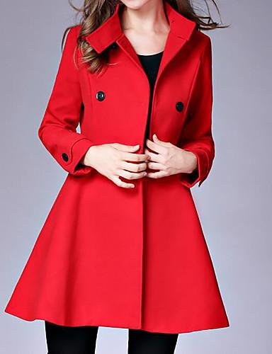 Women's Coat - Solid Stand