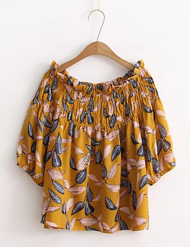 Women's Holiday Going out Daily Casual Cute Street chic Summer Fall Blouse