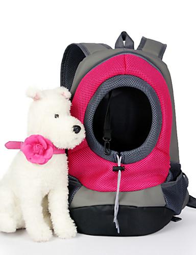 ราคาถูก Toys & Hobbies-แมว สุนัข ให้บริการ & เป้เดินทาง สัตว์เลี้ยง ตะกร้า สีพื้น Portable ระบายอากาศ สีเขียว ฟ้า สีชมพู สำหรับสัตว์เลี้ยง