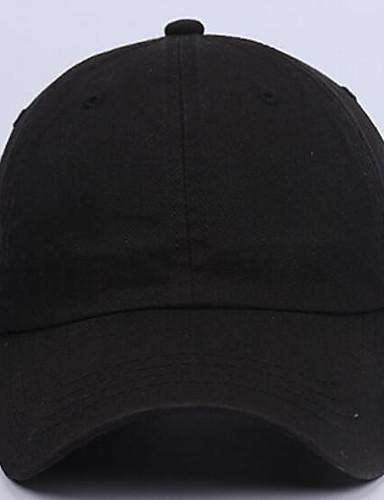 Uniszex Nyomtatott Tiszta szín Poliészter, Kalap / Kortárs / Egyszerű - Baseball sapka