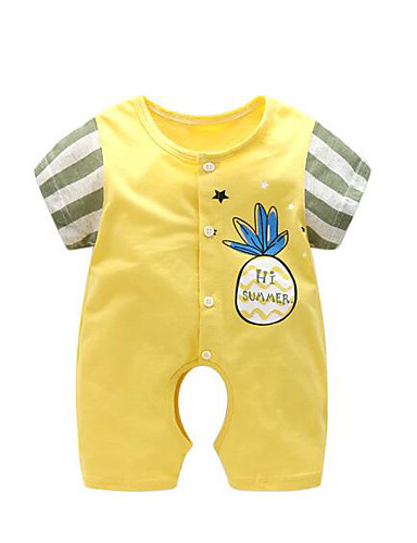 Baby Einzelteil Geometrisch Baumwolle Sommer
