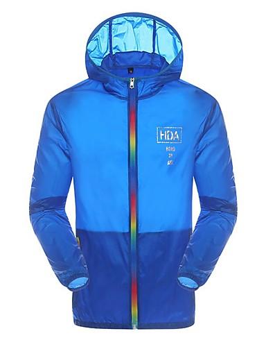 Herren Solide Einfach Street Schick Chinoiserie Sport Ausgehen Lässig/Alltäglich Jacke,V-Ausschnitt Sommer Herbst Langärmelige Standard