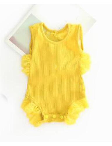 Baby Einzelteil Andere Baumwolle Sommer Rosa Gelb