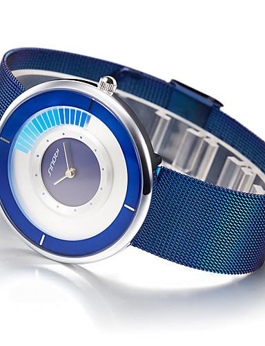 SINOBI Herrn Einzigartige kreative Uhr Armband-Uhr Kleideruhr Modeuhr Sportuhr Chinesisch Quartz Wasserdicht Mehrfarbig Schockresistent