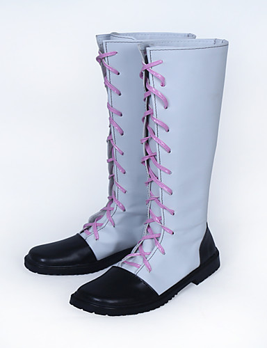 abordables Cosplay de Animes-Zapatos de Cosplay Noragami Akaito Animé Zapatos de cosplay TPU Unisex