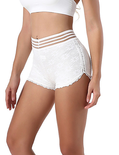 Women's Shorties & Boyshorts Panties - Lace, Solid Colored
