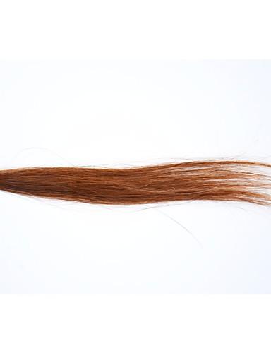 abordables Perruques Naturelles Dentelle-Perruque Cheveux Naturel humain Full Lace Cheveux Eurasiens Droit Femme Densité 130% Long Blond de fraise Auburn Auburn foncé Perruque Naturelle Dentelle / Droite