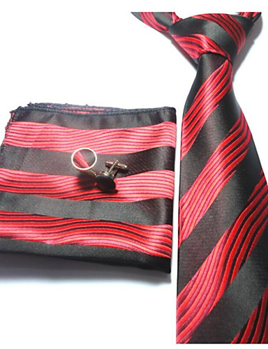 Men's Polyester Necktie - Striped