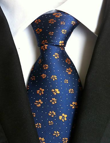 Discreto Per Uomo Da Ufficio - Essenziale Cravatta Con Stampe #06251108 In Viaggio