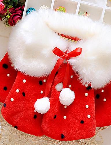 Pamut Poliészter Egyszínű Tél Ősz Hosszú ujj Lány Öltöny és blézer Fehér Rubin Arcpír rózsaszín