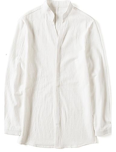 Men's Cotton Shirt - Solid Colored