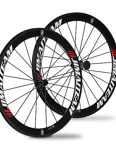 cheap Tires, Tubes & Wheelsets-SHENHUA 700CC Wheelsets Cycling 23 mm / 25 mm Road Bike Carbon Fiber / Full Carbon Clincher 20/24 Spokes 50 mm