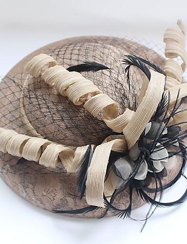 Női Egyszínű Pamut, Kalap / Hagyományos / Vintage / Divatos és modern - Halász sapka / Tél