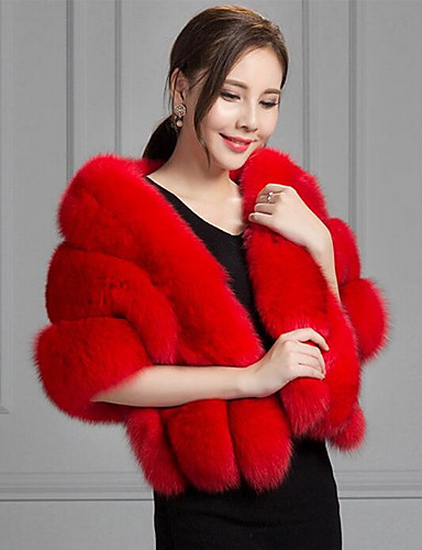 058494e1bf125 Women s Daily Fall   Winter Short Fur Coat