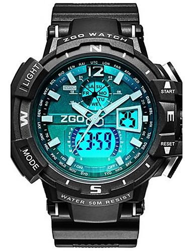 Pánské Módní hodinky Digitální hodinky Digitální Pryž Kapela Černá ... b646f39c5e