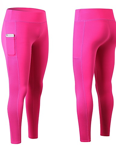 9c33391c4b0 Women s Pocket Running Tights Blue Black   White Grey Sports Tights Yoga  Fitness Gym Workout Activewear Fitness