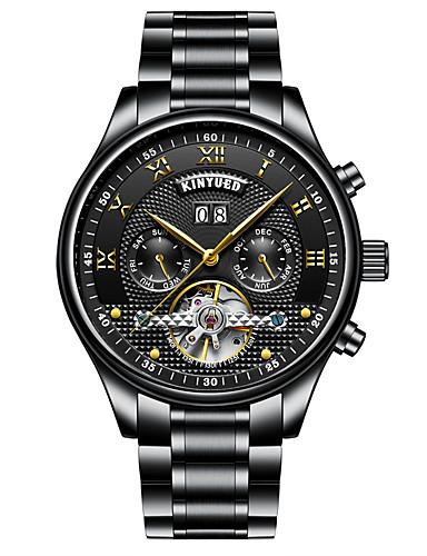 Herrn Kinder Armbanduhren für den Alltag Modeuhr Kleideruhr Totenkopfuhr Militäruhr Armbanduhr Mechanische Uhr Schweizer Automatikaufzug