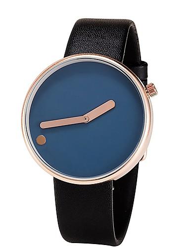 Męskie Kwarcowy Zegarek na nadgarstek Chiński Chronograf Wodoszczelny Skóra Pasmo Na co dzień Unikalny twórczy zegarek Minimalistyczny