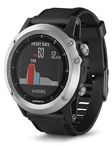 GARMIN® Męskie / Damskie Zegarek sportowy / Zegarek na nadgarstek Szwajcarski Bluetooth / Alarm / Kalendarz / data / dzień Silikon Pasmo Czarny / Wodoszczelny / Wodoodporny / Krokomierze / Kompas