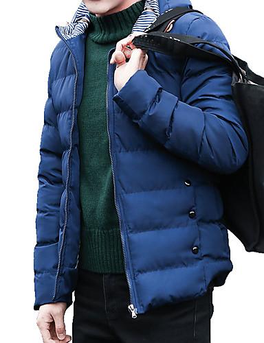 Męskie Rozmiar plus Moda miejska Wyściełany Jendolity kolor
