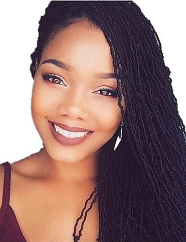 cheap Sale-Braiding Hair Sister Locs / Micro Locs Pre-loop Crochet Braids 100% kanekalon hair / Kanekalon One-piece Suit, 80 roots / pack Hair Braids Medium Length Soft / Designers / African Braids