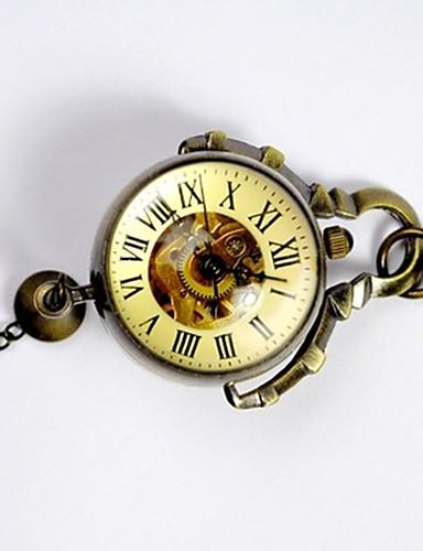 Dla par Kwarcowy Zegarek kieszonkowy Chiński Hollow Grawerowanie Na codzień Stop Pasmo Luksusowy Na co dzień Lebky Złoty