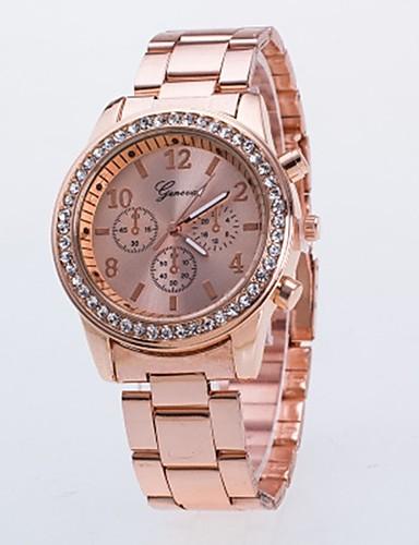 Damskie Dla par Kwarcowy Zegarek na nadgarstek Chiński Na codzień Stop Pasmo Luksusowy Na co dzień Modny Nowoczesne Srebro Złoty Różowe