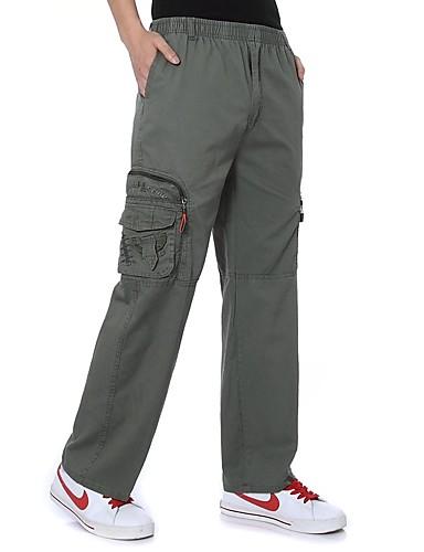 4e196731bc Hombre Pantalones cargo Al aire libre Listo para vestir Fitness Campo  Traviesa Invierno Algodón Pantalones   Sobrepantalón Ejercicio al Aire Libre  Deportes ...