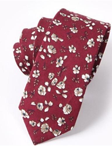 Męskie Nadruk Krawat - Bawełna