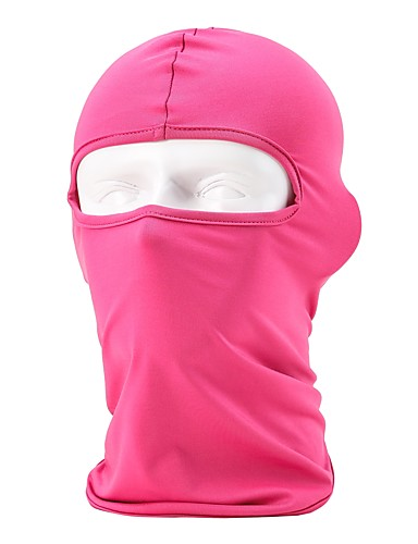 cheap Cycling Clothing-Nuckily Balaclava Solid Color Windproof Sunscreen Breathable Comfortable Elastic Bike / Cycling Dark Blue Fuchsia Grey Spandex Lycra for Men's Women's Adults' Ski / Snowboard Hiking Cycling / Bike