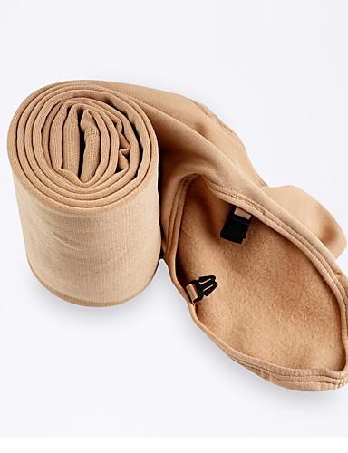 abordables Robe de Patinage-Collants de Patinage Artistique Femme Fille Patinage Leggings Kaki Spandex Haute élasticité Compétition Tenue de Patinage Couleur Pleine Patinage Artistique