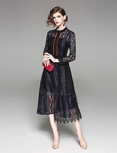 עומד אחיד - שמלה נדן בגדי ריקוד נשים