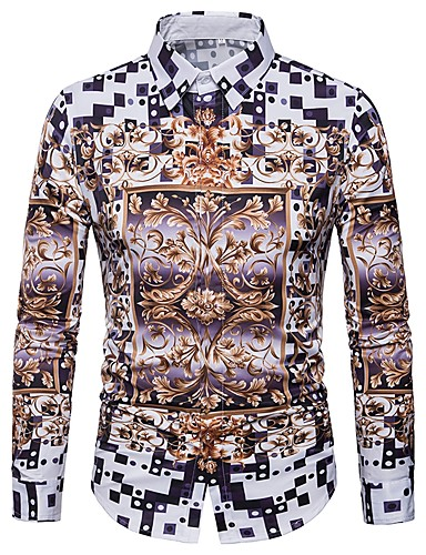 פאנק & גותיות מידות גדולות, חולצה - בגדי ריקוד גברים כותנה