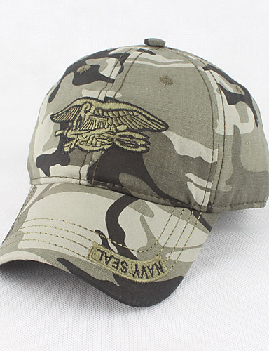 290d2477fe474 Men s Work Baseball Cap   Sun Hat   Military Hat - Solid Colored    Camouflage Color