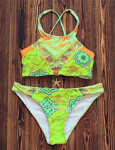 Per donna con stampe con laccetti con stampe bikini - Stampe per bagno ...