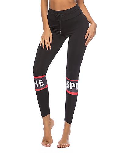 Damskie Podstawowy Rurki Spodnie dresowe Spodnie Solidne kolory
