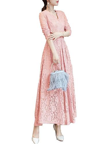 ราคาถูก ล้างสต็อก -99357C-สำหรับผู้หญิง ไปเที่ยว เพรียวบาง สวิง แต่งตัว สีพื้น ขนาดใหญ่ เอวสูง / Sexy