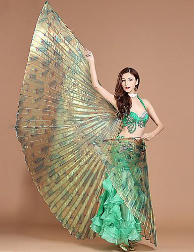 voordelige Shall We®-Buikdans / Dansaccessoires Isis-vleugels Dames Prestatie Polyester Prints / Golf-achtig
