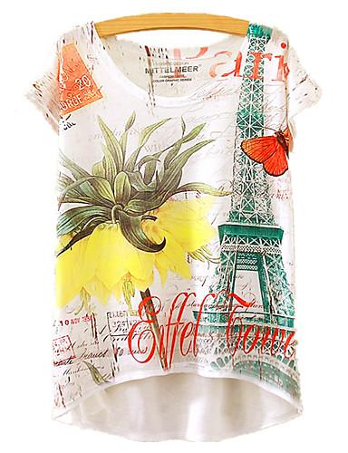 Pentru femei Tricou Floral Imprimeu