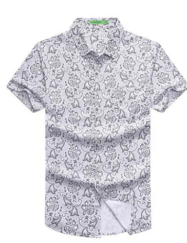 cămașă pentru bărbați - guler geometric pentru cămașă