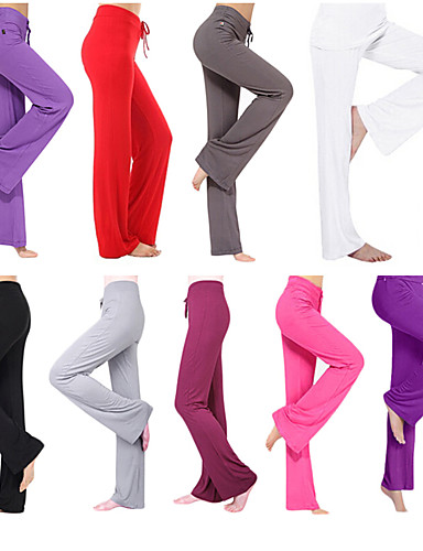 eadeb2794f Women's Drawstring Yoga Pants Sports Fashion Modal Leggings Zumba Pilates  Dance Plus Size Activewear Lightweight Soft Power Flex Stretchy Standard Fit