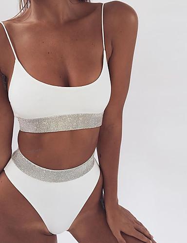 Damskie Bikini - Jendolity kolor Dół typu Cheeky