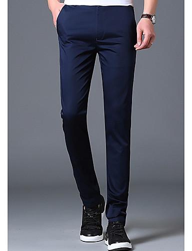 Bărbați Zvelt Blugi Pantaloni Mată