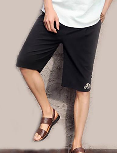 Bărbați Vintage / Chinoiserie Pantaloni Scurți Pantaloni Floral