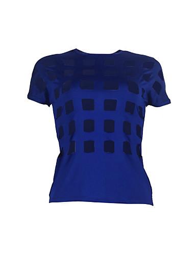 Pentru femei Tricou De Bază - Mată Decupată