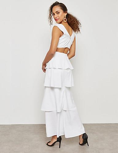 51789a37c545 Γυναικεία Κομψό στυλ street   Εκλεπτυσμένο Θήκη Φόρεμα - Μονόχρωμο ...